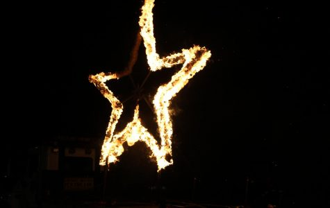 The Lighting of the Star serves as the first major event of Homecoming week.