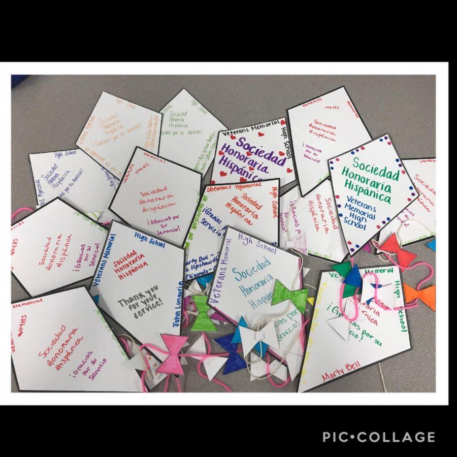 Students participate in kite-making for School Board Appreciation Month