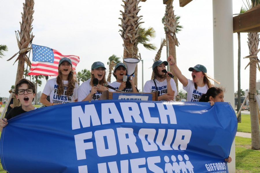 Students participate in nationwide march