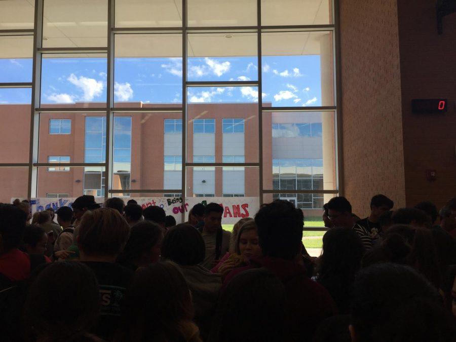 Varsity Football Hosts a Social
