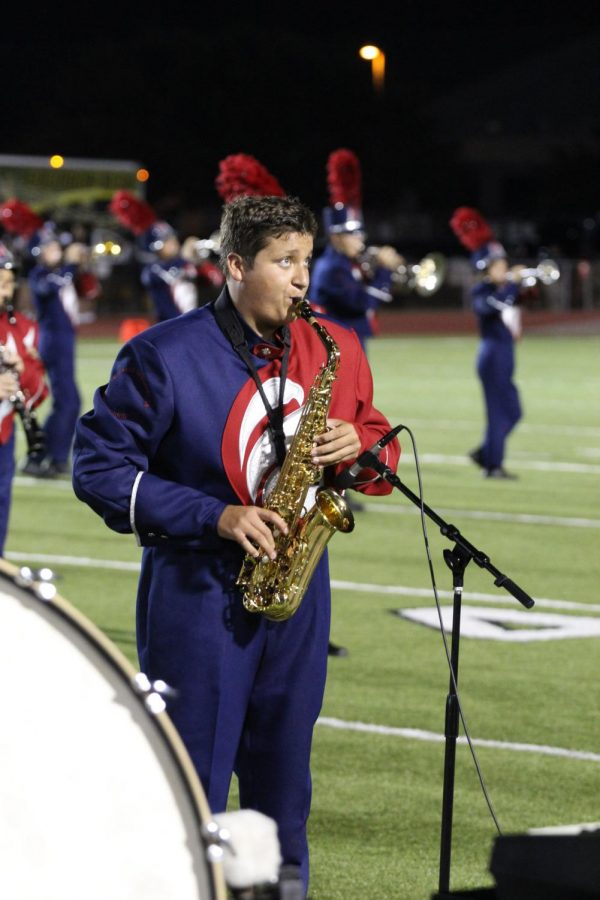 Saxophonist Makes the All-State Band