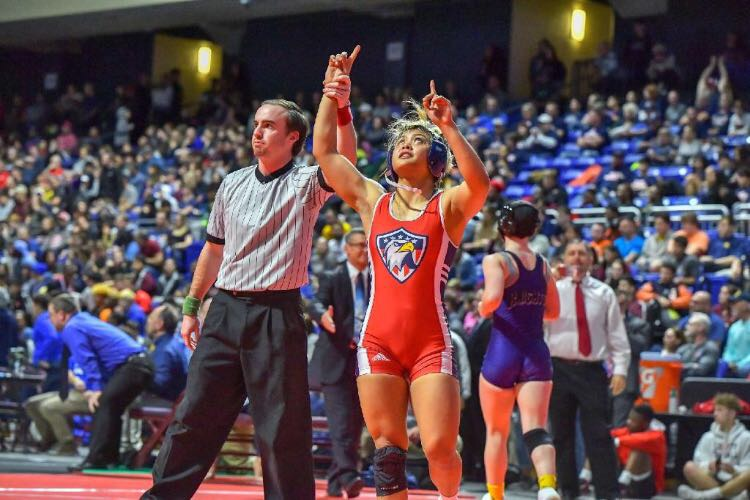 Wrestling team makes the podium at State